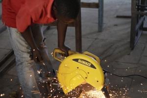 MoHI welding program - Photo Credit: Ryan Barnett